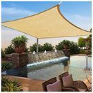 Yescom 16 x 16-Foot Square Sun Shade Sail
