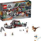 LEGO Jurassic World Jurassic Park Velociraptor Chase 75932
