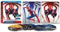 Spider-Man Legacy Collection Blu-Ray Steelbook