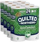 Quilted Northern EcoComfort Toilet Paper 24-Mega Rolls Pack