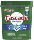 Cascade Complete ActionPacs Dishwasher Detergent 78-Ct.