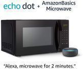 PRIME - AmazonBasics Microwave with Echo Dot (3rd Gen.)