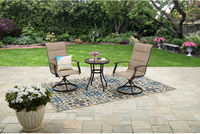 Mainstays Highland Knolls 3-Piece Outdoor Bistro Set