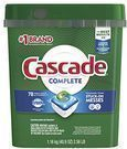 Cascade Complete ActionPacs Dishwasher Detergent 78-Pack