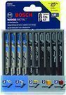 Bosch T5002 10-Piece Assorted T-Shank Jig Saw Blade Set