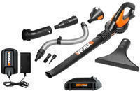 WORX WG545.1 20V Multi-Purpose Lithium Blower w/ Attachments