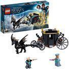 LEGO Harry Potter Grindelwald's Escape Building Set