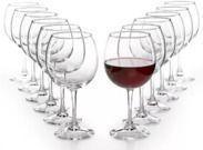 Martha Stewart Essentials 12-Pc. Red Wine Glasses Set
