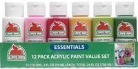 Apple Barrel Essentials 12 Color Paint Set
