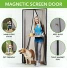 83 x 19.5 Magna Screen, Instant Magnetic Screen Door