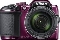 Nikon COOLPIX B500 16.0-Megapixel Digital Camera, Plum