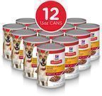 Hill's Science Diet 12pk Wet Dog Food, Adult, 13 oz Cans