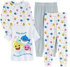 Toddler Boy Baby Shark Cotton Tops & Bottoms Pajamas Set