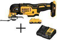 DEWALT 20V MAX Battery Pack 3.0 Ah & Charger w/ Free Tool
