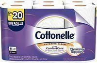 Cottonelle Ultra ComfortCare Toilet Paper, 12 Big Rolls