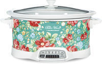 The Pioneer Woman Vintage Floral 7-Quart Slow Cooker