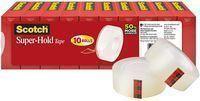 Scotch Brand Super-Hold Tape, Photo-Safe, 10 Rolls