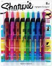 Sharpie Retractable Highlighters, Chisel Tip, Assorted 8ct