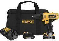 DeWalt 12V Max 3/8 Li-Ion Drill Driver Kit + $11.55 Credit