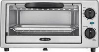 Bella 4-Slice Toaster Oven, Black/silver