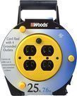 Woods 4907 Extension Cord Reel with 4-Outlets