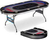 ESPN 10 Player Premium Foldable Poker Table