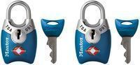 Master Lock Keyed TSA Luggage Lock 2-Pack