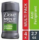 Dove Men+Care Antiperspirant Deodorant, Extra Fresh, 2.7 Oz