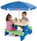 Little Tikes Easy Store Jr. Play Table w/ Umbrella