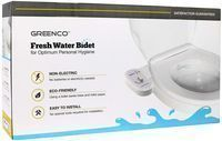 Greenco Bidet Fresh Water Spray Mechanical Bidet Attachment
