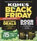 Kohl's 2019 Black Friday Ad