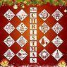 26Pcs Merry Christmas Stencils