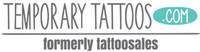Temporary Tattoos - 5% Off Sitewide
