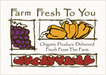 Farm Fresh To You -  $15 Off Your First Delivery